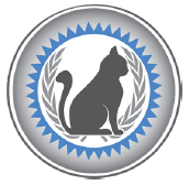 certified feline master groomer logo in anchorage alaska, grooming