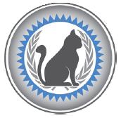 certified feline master groomer logo in anchorage alaska, grooming